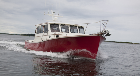 new Lowell 38 lobster cruiser Thorobred