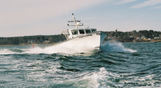 Lowell 43 commercial fishing boat Provider
